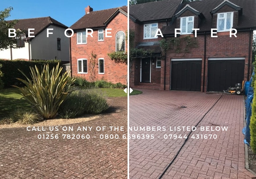 Drive-pressure-washing-in-Reading-Berkshire